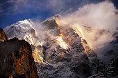 Ultar Peak near Baltit, 7388-M Hunza Pakistan North Pakistan.