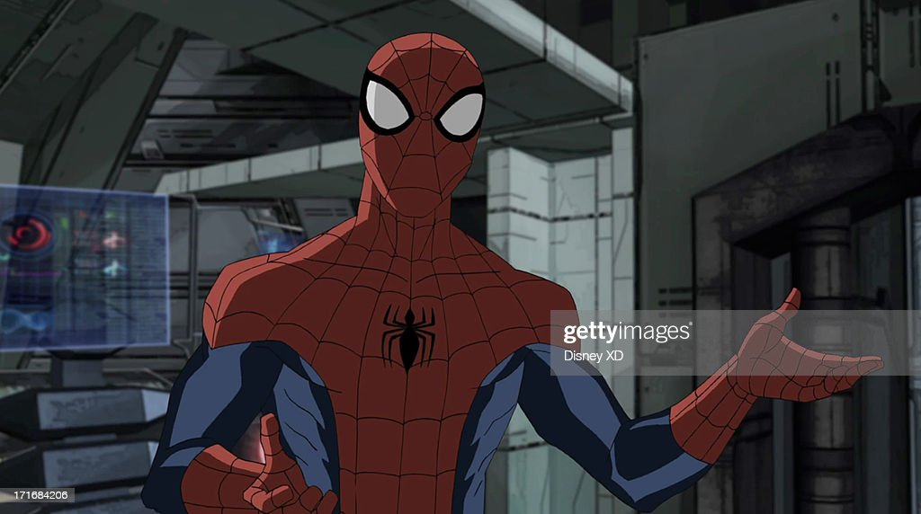 MAN - 'Ultimate Deadpool' - Spider-Man envies Deadpool's free-spirited life, but may change his mind after spending one day in Deadpool's madcap world. Will Friedle ('Boy Meets World') guest stars as Deadpool. This new episode of 'Ultimate Spider-Man' airs on SUNDAY, JULY 7 (11:30 a.m. - 12:00 p.m., ET/PT) on Marvel Universe on Disney XD. (Disney XD via Getty Images) SPIDER-MAN