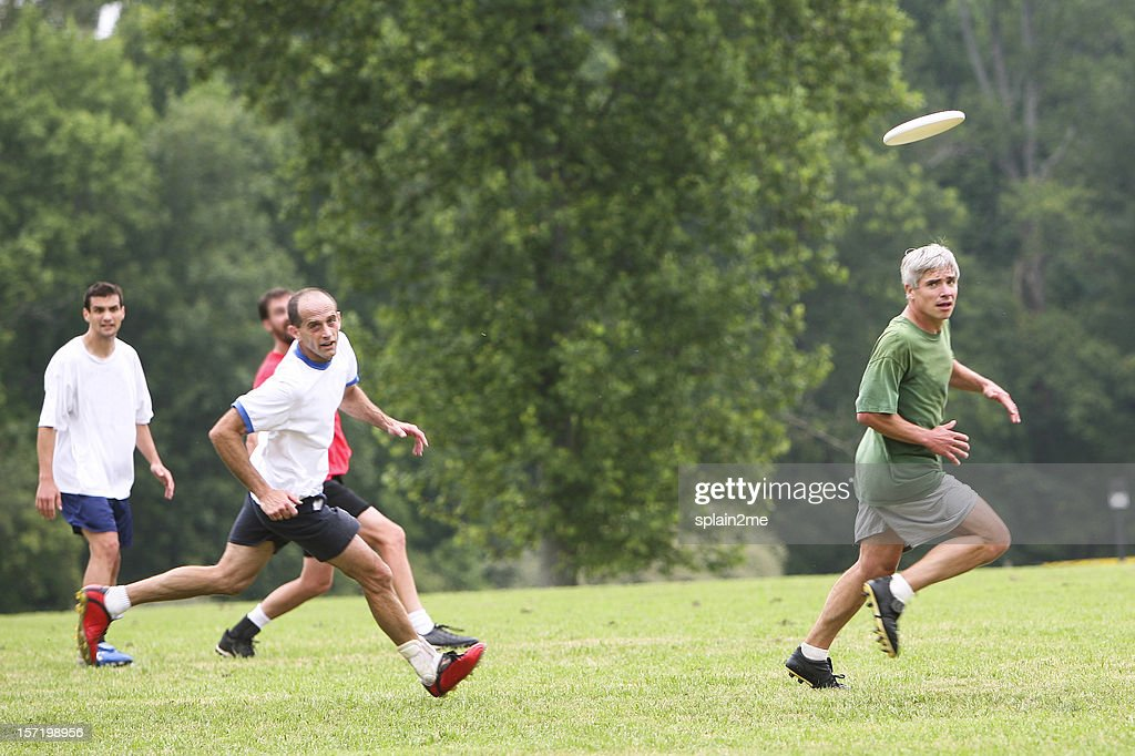 Ultimate Frisbee Stock Photo | Getty Images