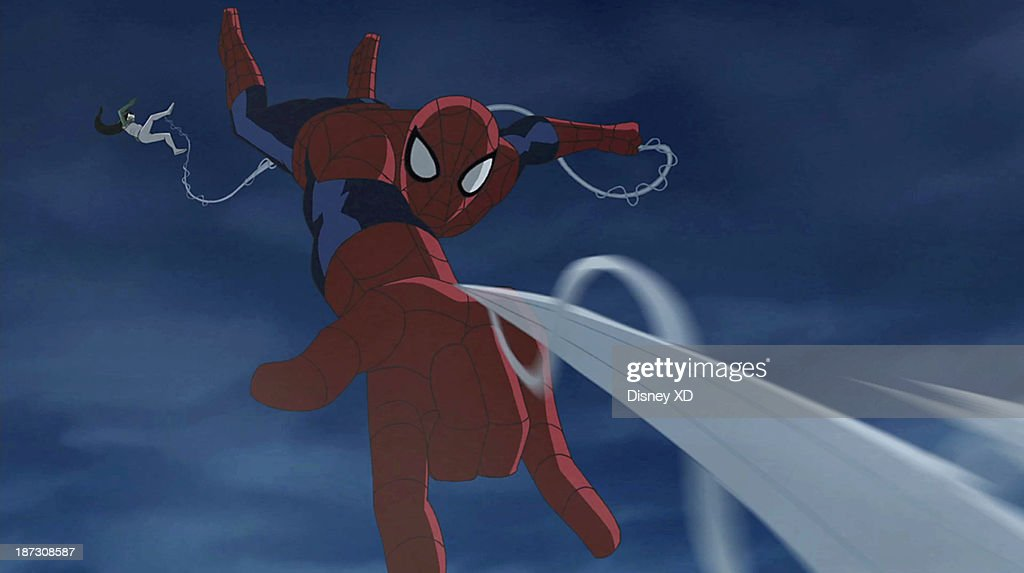 MAN - 'Ultimate' - Spider-Man fights alone against his own team to save all of New York from being turned into Green Goblins. This episode of 'Marvel's Ultimate Spider-Man' premieres SUNDAY, NOVEMBER 10 (11:00 AM - 11:30 AM ET/PT) on Disney XD. (Image by Disney XD via Getty Images) SPIDER-MAN