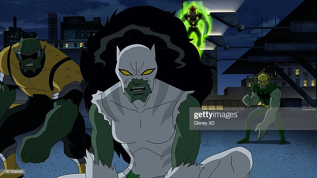 MAN - 'Ultimate' - Spider-Man fights alone against his own team to save all of New York from being turned into Green Goblins. This episode of 'Marvel's Ultimate Spider-Man' premieres SUNDAY, NOVEMBER 10 (11:00 AM - 11:30 AM ET/PT) on Disney XD. POWER
