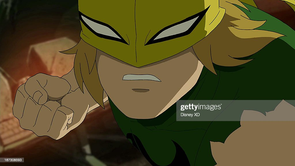 MAN - 'Ultimate' - Spider-Man fights alone against his own team to save all of New York from being turned into Green Goblins. This episode of 'Marvel's Ultimate Spider-Man' premieres SUNDAY, NOVEMBER 10 (11:00 AM - 11:30 AM ET/PT) on Disney XD. (Image by Disney XD via Getty Images) IRON FIST