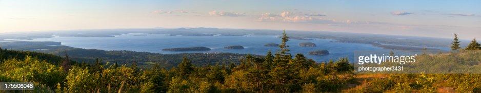 Ultra high resolution panoramic of Maine