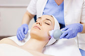 Ultrasound cavitation, face skin anti age treatment
