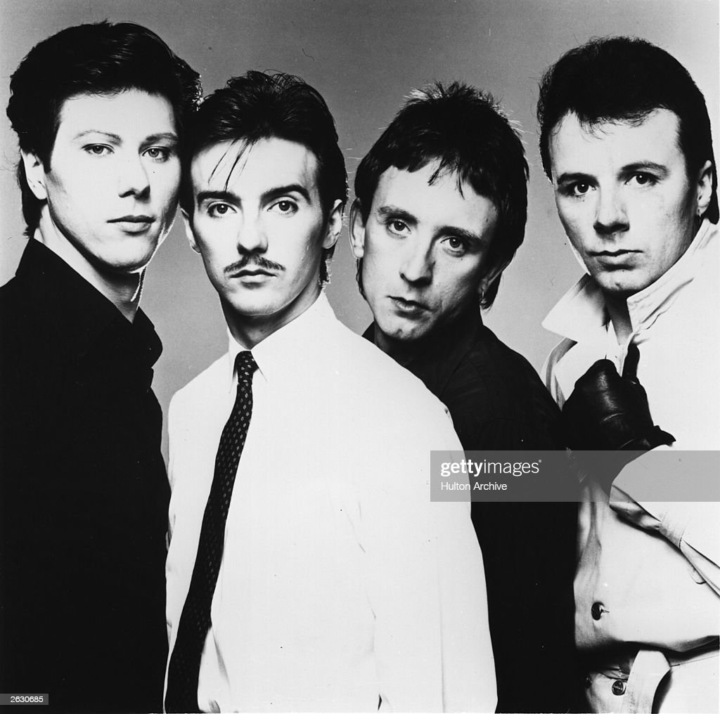 Ultravox the pop group comprised of Midge Ure Warren Cann Billy Currie and Chris Cross famous for their single 'Vienna'