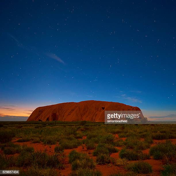 Uluru Beneath The Stars