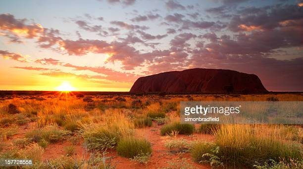 Uluru Dawn Northern Territory