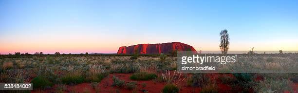 Uluru Dawn Panorama