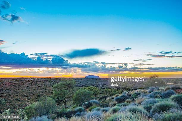 Uluru Sunrise in the Australian Desert