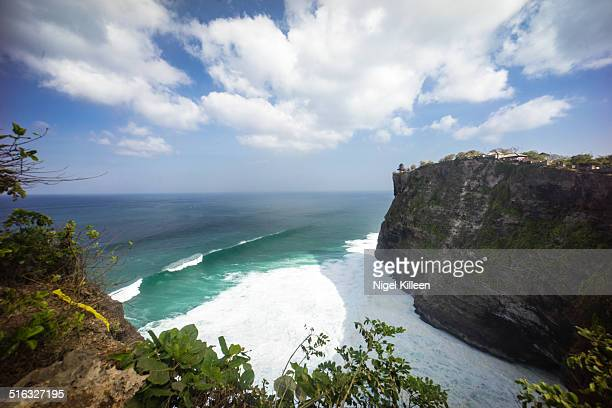 Uluwatu Temple and coast