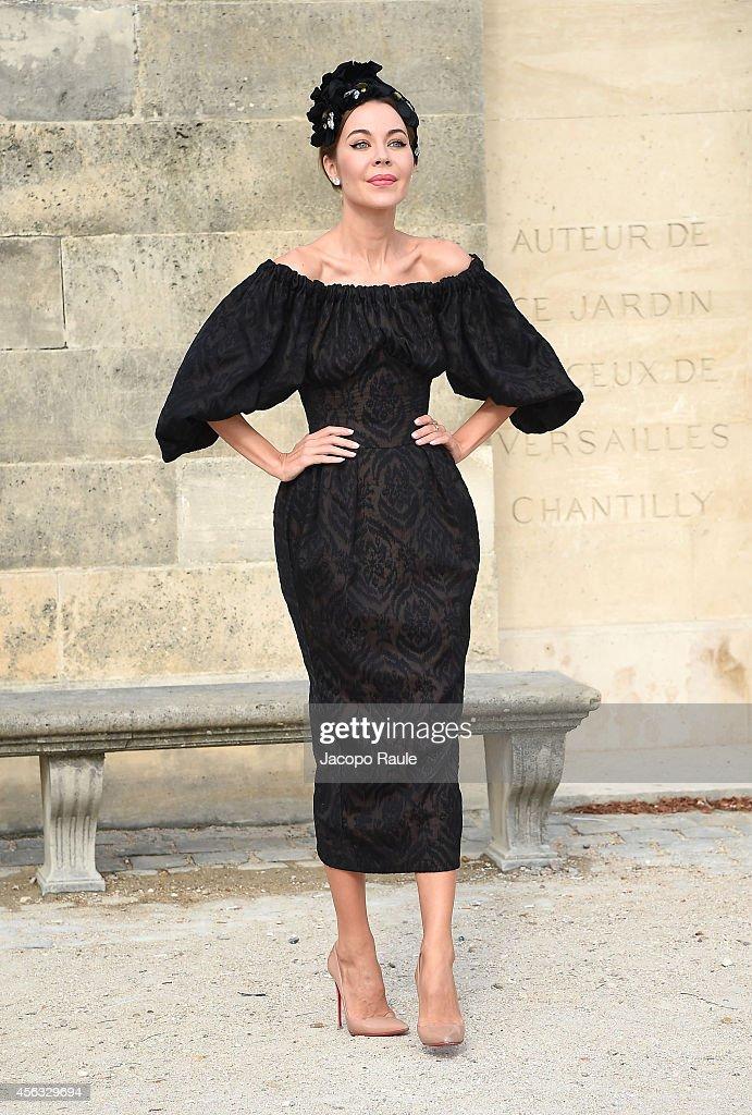 Celebrity Sighting At Paris Fashion Week, Womenswear SS 2015 : September 29th