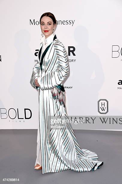 Ulyana Sergeenko attends amfAR's 22nd Cinema Against AIDS Gala Presented By Bold Films And Harry Winston at Hotel du CapEdenRoc on May 21 2015 in Cap...