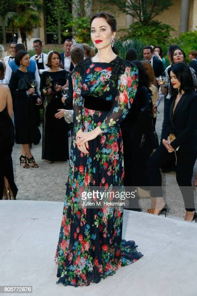 Ulyana Sergeenko attends the amfAR Paris Dinner 2017 at Le Petit Palais on July 2 2017 in Paris France