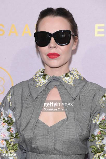 Ulyana Sergeenko attends the Elie Saab Haute Couture Fall/Winter 20172018 show as part of Paris Fashion Week on July 5 2017 in Paris France