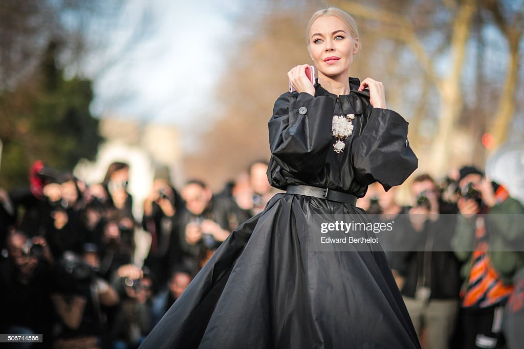 Street Style : Paris Fashion Week -Haute Couture- Spring/Summer 2016  : Day Two