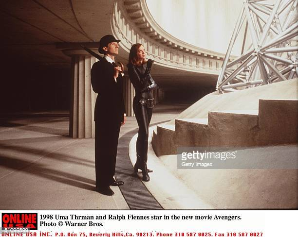 Uma Thurman And Ralph Fiennes Stars In The Avengers