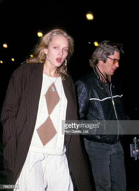 Uma Thurman and Richard Gere