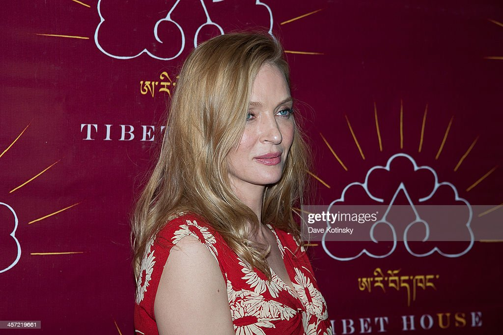 <a gi-track='captionPersonalityLinkClicked' href=/galleries/search?phrase=Uma+Thurman&family=editorial&specificpeople=171973 ng-click='$event.stopPropagation()'>Uma Thurman</a> attends the 11th annual Tibet House US Benefit Auction at Christie's Auction House on December 16, 2013 in New York City.