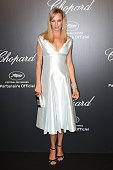 Uma Thurman attends the Chopard party during the 68th annual Cannes Film Festival on May 18 2015 in Cannes France