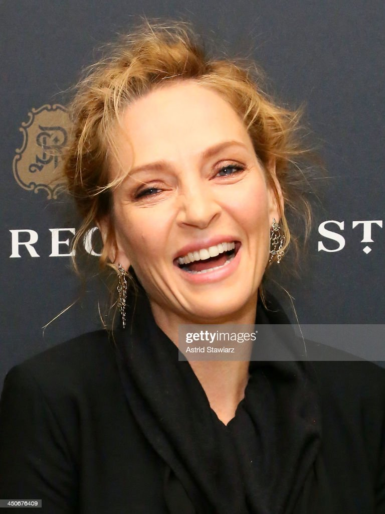 <a gi-track='captionPersonalityLinkClicked' href=/galleries/search?phrase=Uma+Thurman&family=editorial&specificpeople=171973 ng-click='$event.stopPropagation()'>Uma Thurman</a> attends the King Cole Bar And Salon opening at the St. Regis on November 19, 2013 in New York City.