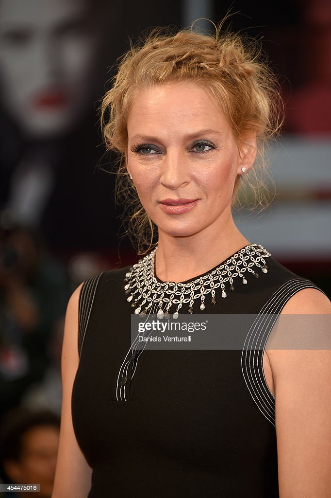 <a gi-track='captionPersonalityLinkClicked' href=/galleries/search?phrase=Uma+Thurman&family=editorial&specificpeople=171973 ng-click='$event.stopPropagation()'>Uma Thurman</a> attends the 'Nymphomaniac: Volume 2 - Directors Cut' premiere during the 71st Venice Film Festival on September 1, 2014 in Venice, Italy.