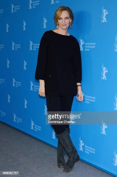Uma Thurman attends the 'Nymphomaniac Volume I' photocall during 64th Berlinale International Film Festival at Grand Hyatt Hotel on February 9 2014...