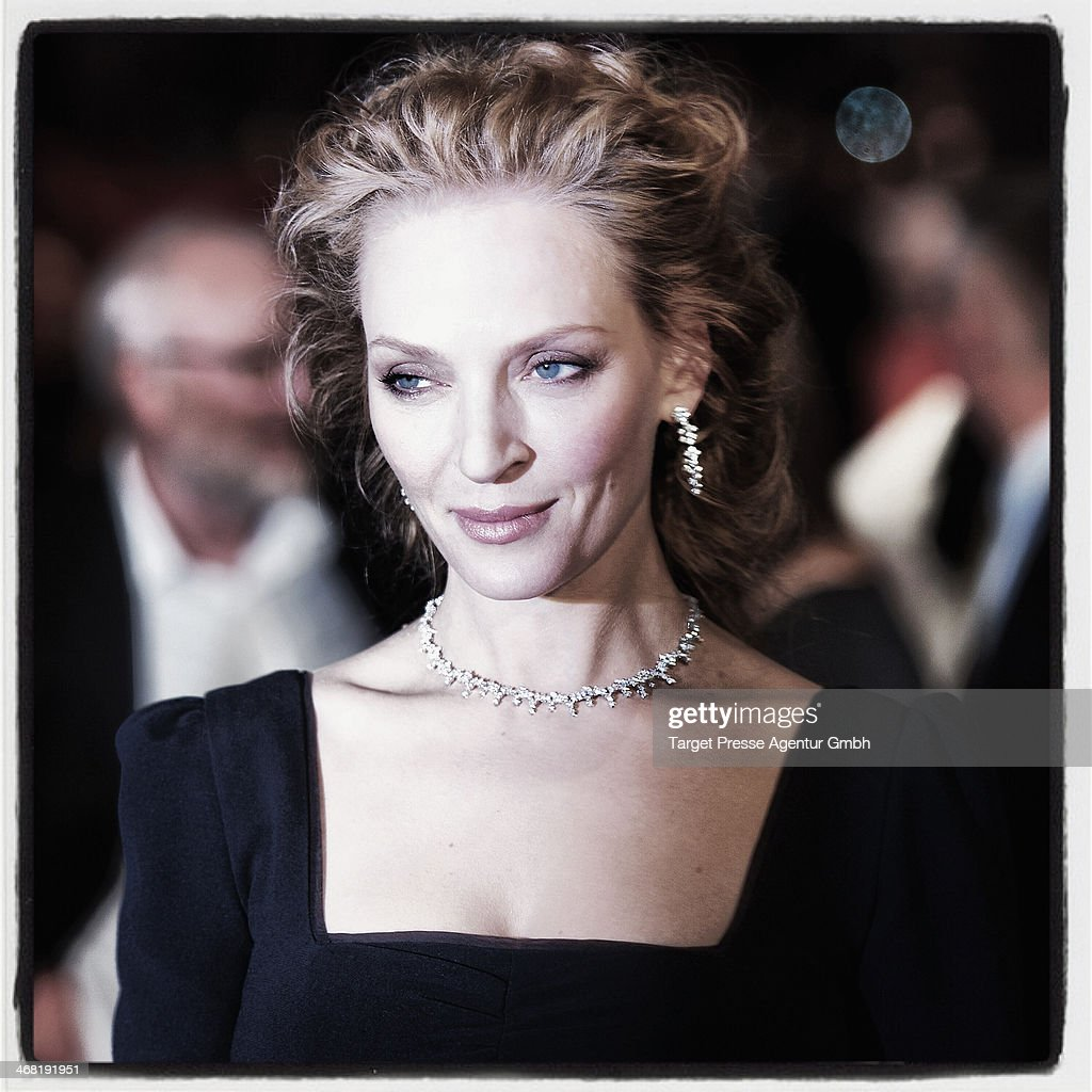 <a gi-track='captionPersonalityLinkClicked' href=/galleries/search?phrase=Uma+Thurman&family=editorial&specificpeople=171973 ng-click='$event.stopPropagation()'>Uma Thurman</a> attends the 'Nymphomaniac Volume I (long version)' premiere during 64th Berlinale International Film Festival at Berlinale Palast on February 9, 2014 in Berlin, Germany.