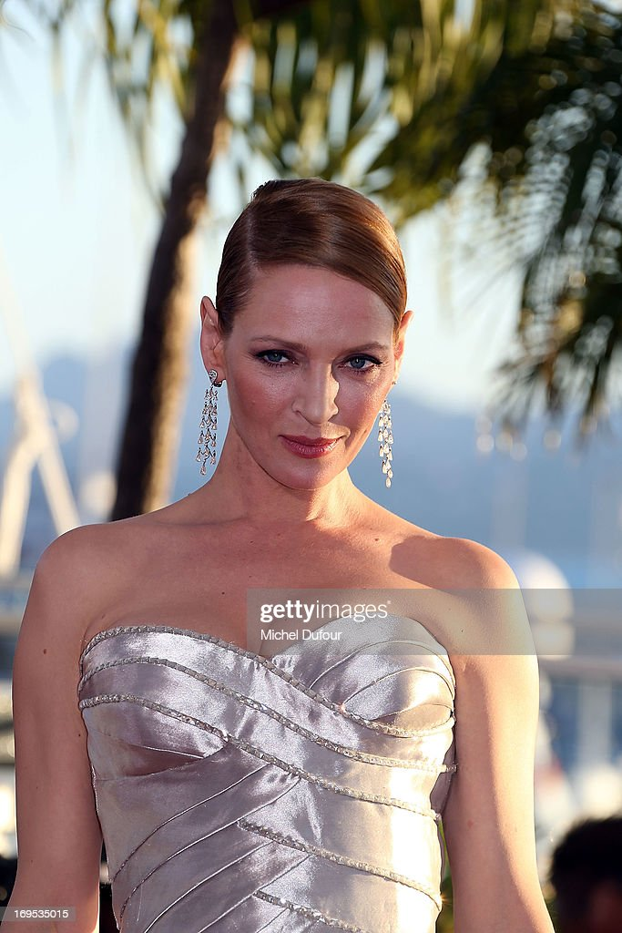 <a gi-track='captionPersonalityLinkClicked' href=/galleries/search?phrase=Uma+Thurman&family=editorial&specificpeople=171973 ng-click='$event.stopPropagation()'>Uma Thurman</a> attends the Palme D'Or Winners Photocall during the 66th Annual Cannes Film Festival at the Palais des Festivals on May 26, 2013 in Cannes, France.