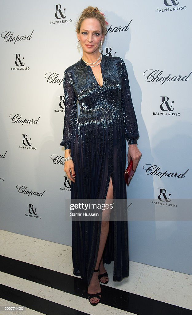 <a gi-track='captionPersonalityLinkClicked' href=/galleries/search?phrase=Uma+Thurman&family=editorial&specificpeople=171973 ng-click='$event.stopPropagation()'>Uma Thurman</a> attends the Ralph & Russo and Chopard dinner during part of Paris Fashion Week on January 25, 2016 in Paris, France.