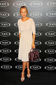 Uma Thurman attends Tod's Boutique ReOpening Celebration at Tod's Boutique on September 8 2014 in New York City