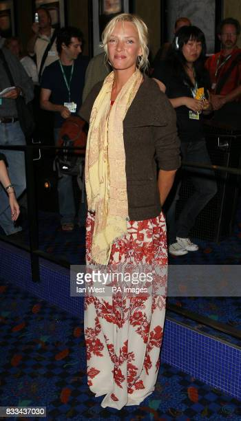 Uma Thurman is seen at the premiere of In Bloom part of the Toronto Film Festival at the Varsity Cinema in Toronto CanadaPicture date 8th September...
