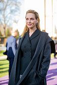 Celebrity Sightings - Paris Fashion Week - Haute...