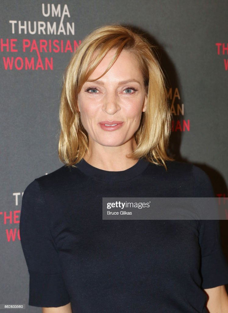 "Uma Thurman ""The Parisian Woman"" Press Meet & Greet"
