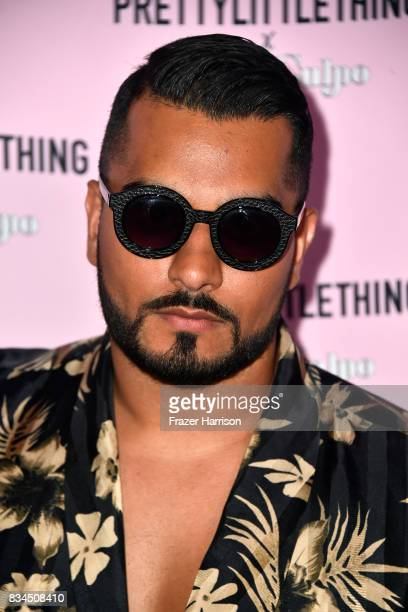Umar Kamani attends PrettyLittleThing X Olivia Culpo Launch at Liaison Lounge on August 17 2017 in Los Angeles California