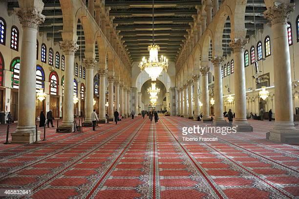 CONTENT] Umayyad Mosque interior DamascusThe great Mosque of Damascus