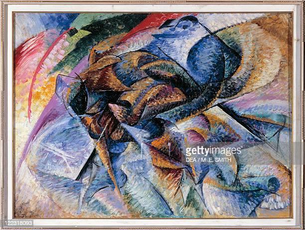 Umberto Boccioni Dynamism of a Cyclist oil on canvas