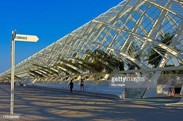 L Umbracle by S Calatrava City of Arts and Sciences Comunidad Valenciana Valencia Spain