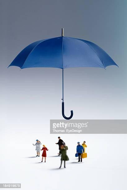 Paraguas protección
