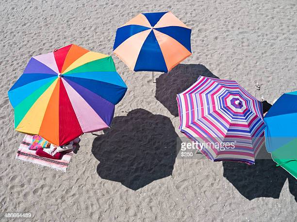 Umbrellas At The Beach