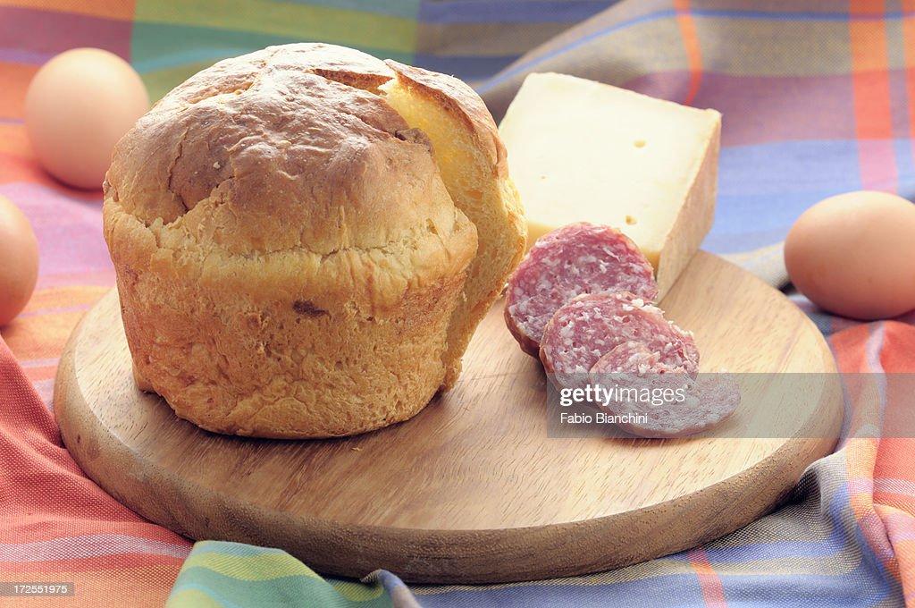 Umbrian Cheese Cake : Stock Photo