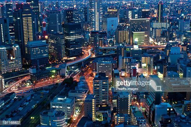 Umeda night view