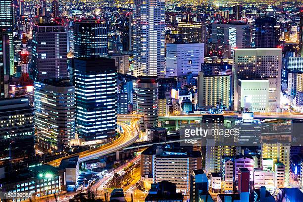 Umeda Osaka by Night, Japan