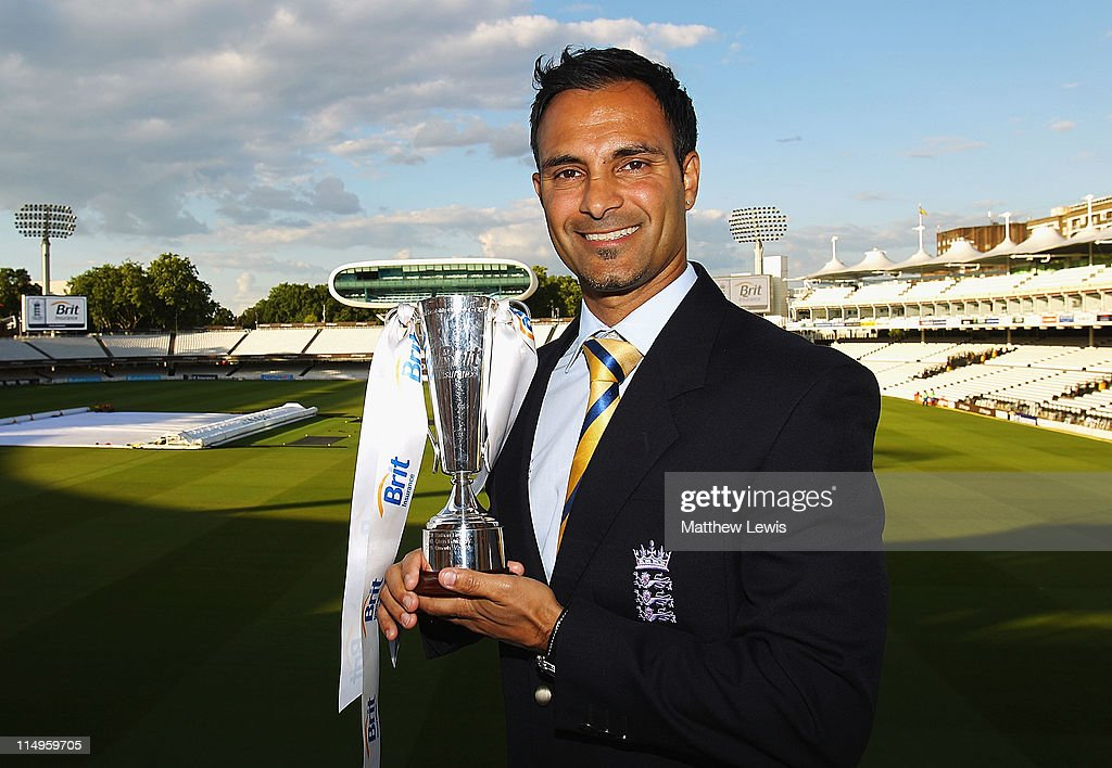 Umesh Valjee of England poses after winning the 'Disability Cricketer of the Year Award' during the ECB Cricketer of the Year Dinner at Lord's Cricket Ground on May 31, 2011 in London, England.