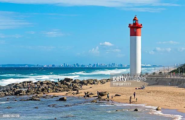 Umhlanga Lighthouse with Durban