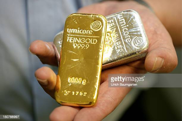 Umicore AG CoKG 1000g fine gold and 1000g fine silver
