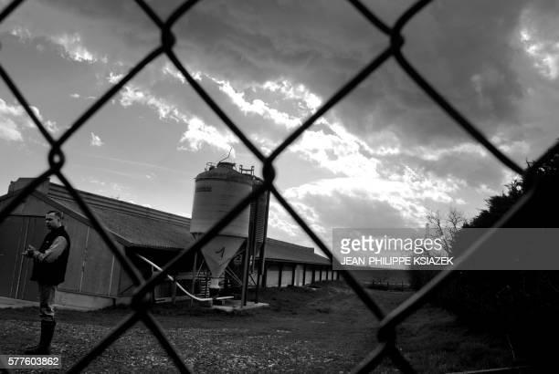 'LES AVICULTEURS DE LA DOMBES NE PLAISANTENT PAS AVEC L'HYGIENE' Un aviculteur pose le 01 février 2007 à La Boisse devant le hangar où il élève plus...