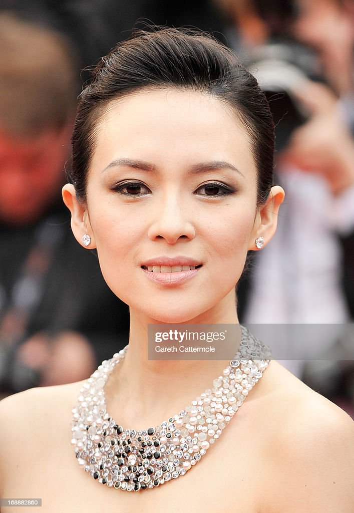 Un Certain Regard jury member Zhang Ziyi attends 'The Bling Ring' premiere during The 66th Annual Cannes Film Festival at the Palais des Festivals on May 16, 2013 in Cannes, France.