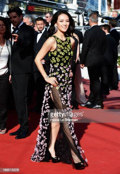 'Un Certain Regard' jury member Zhang Ziyi attends the 'Zulu' Premiere and Closing Ceremony during the 66th Annual Cannes Film Festival at the Palais...