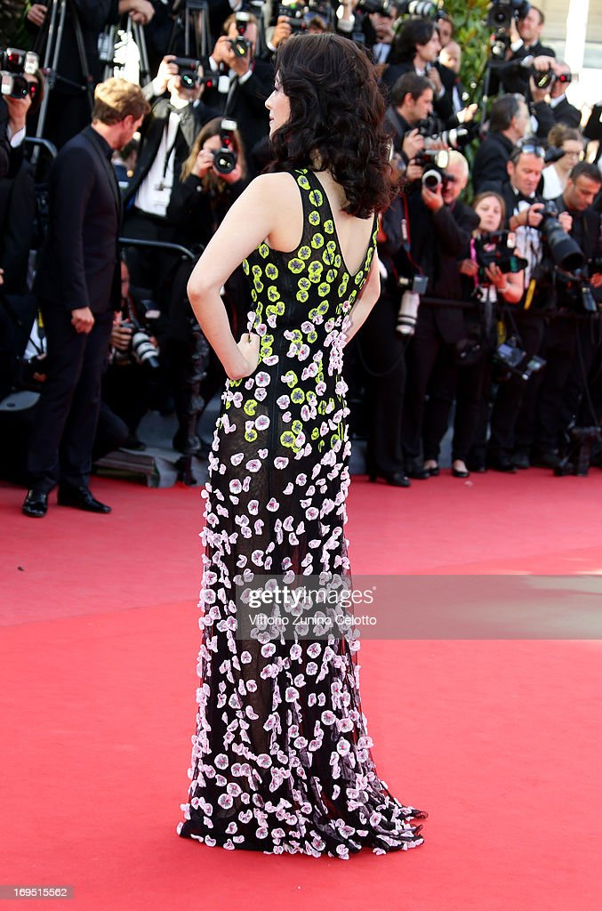 'Un Certain Regard' jury member Zhang Ziyi attends the 'Zulu' Premiere and Closing Ceremony during the 66th Annual Cannes Film Festival at the Palais des Festivals on May 26, 2013 in Cannes, France.