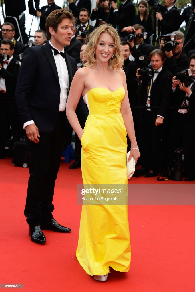 Un Certain Regard jury members Ludivine Sagnier and Thomas Vinterberg attend 'The Bling Ring' premiere during The 66th Annual Cannes Film Festival at the Palais des Festivals on May 16, 2013 in Cannes, France.